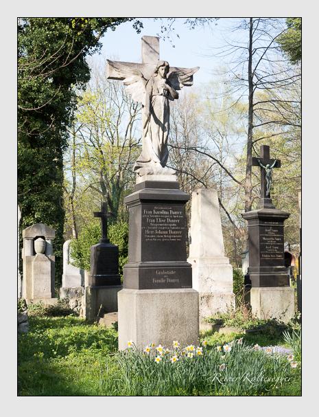 Grab der Familie Daurer auf dem Alten Südfriedhof München (April 2014)