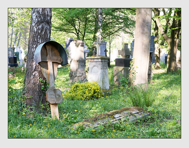 Grab der Familie Klotz auf dem Alten Südfriedhof München (April 2014)