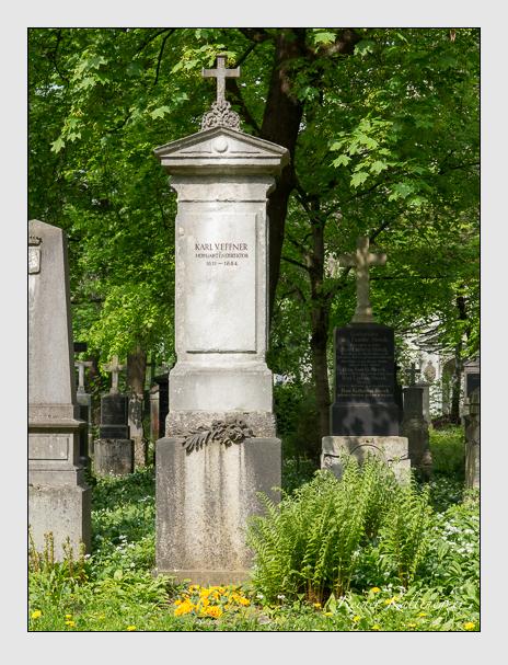 Grab der Familie Effner auf dem Alten Südfriedhof München (April 2014)