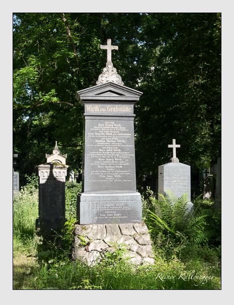 Grab der Familien Hauser & Wirth auf dem Alten Südfriedhof München (Juni 2014)
