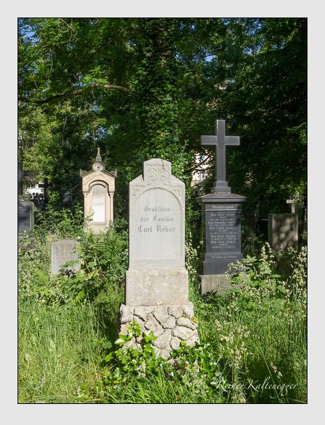 Grab der Familie Reber auf dem Alten Südfriedhof München (Juni 2014)