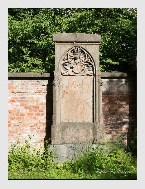 Grab der Familien Blennerhassett & Leyden auf dem Alten Südfriedhof München (Juni 2014)