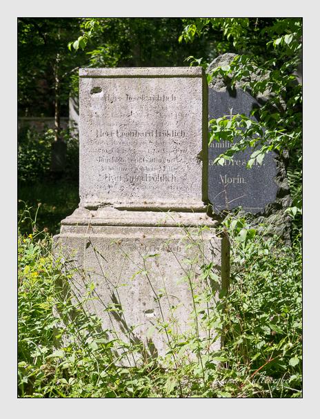 Grab der Familie Fröhlich auf dem Alten Südfriedhof München (Juni 2014)