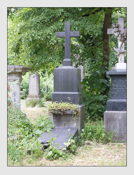 Grab der Familie Priller auf dem Alten Südfriedhof München (Juni 2014)