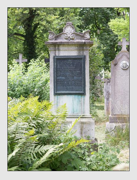 Grab der Familie Schönfelder auf dem Alten Südfriedhof München (Juni 2014)