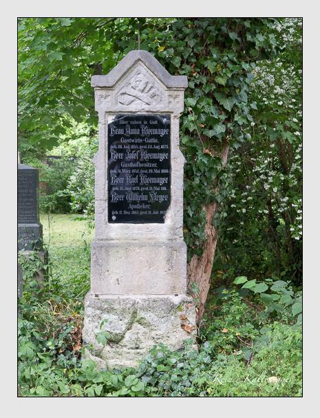 Grab der Familien Kiermayer & Meyer auf dem Alten Südfriedhof München (Juni 2014)