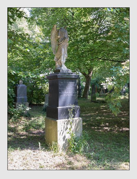 Grab der Familien Heitz & Übelacker auf dem Alten Südfriedhof München (Juni 2014)