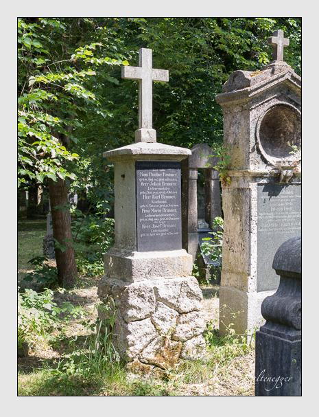 Grab der Familie Brunner auf dem Alten Südfriedhof München (Juni 2014)