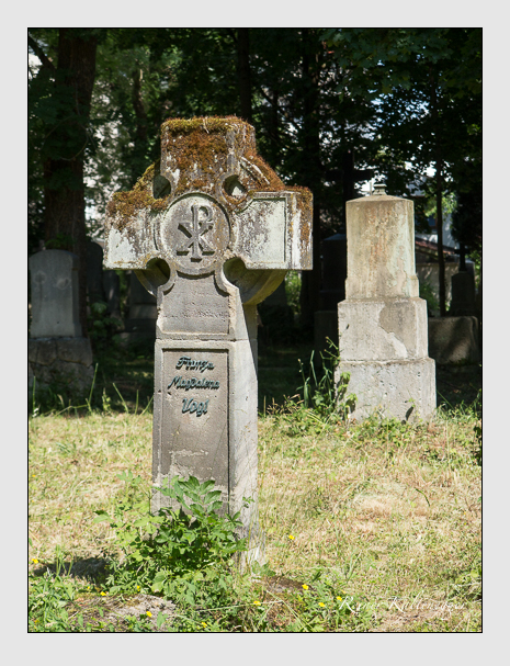 Grab der Familie Vogl auf dem Alten Südfriedhof München (Juni 2014)