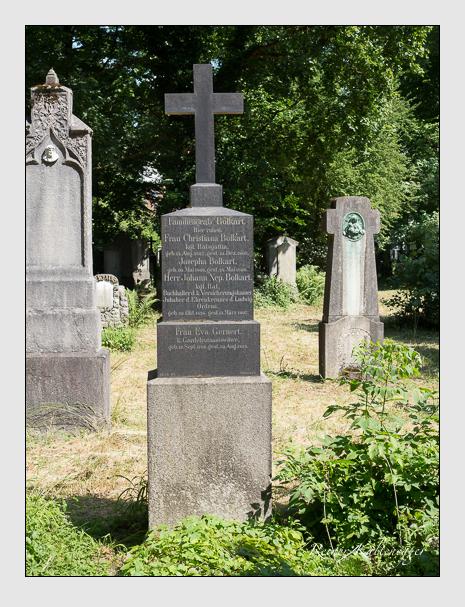 Grab der Familien Bolkart & Gernert auf dem Alten Südfriedhof München (Juni 2014)