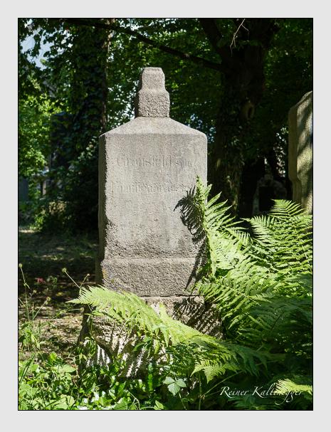 Grab der Familie Gronsfeld auf dem Alten Südfriedhof München (Juni 2014)