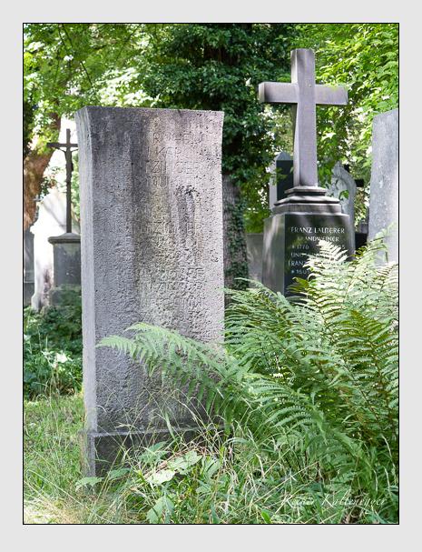 Grab der Familie Lantzinger auf dem Alten Südfriedhof München (August 2014)