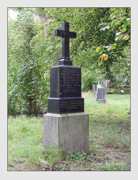 Grab der Familie Schwaabe auf dem Alten Südfriedhof München (August 2014)
