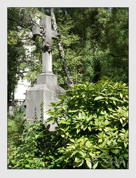Grab der Familie Gresbeck auf dem Alten Südfriedhof München (August 2014)