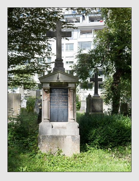 Grab der Familie Hochleitner auf dem Alten Südfriedhof München (August 2014)