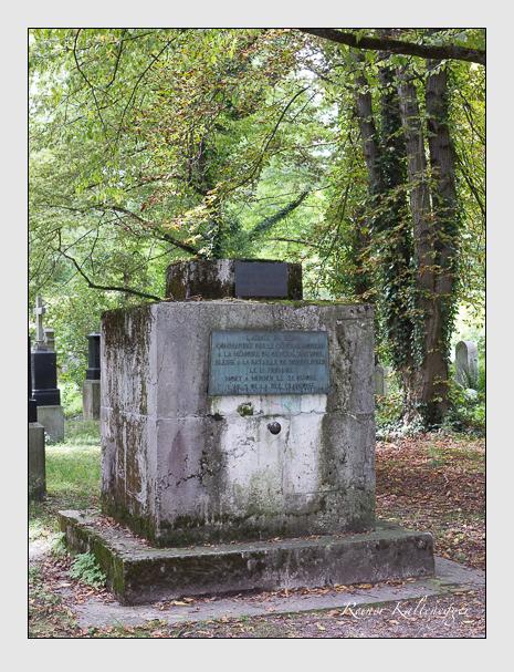 Grab der Familie Bastoul auf dem Alten Südfriedhof München (August 2014)