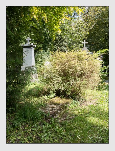 Grab der Familien Kitzing · Max auf dem Alten Südfriedhof München (August 2014)