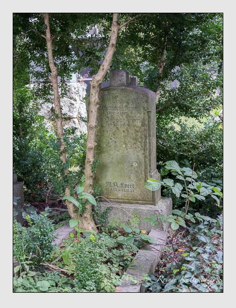 Grab der Familien Evert & Knorr auf dem Alten Südfriedhof München (August 2014)
