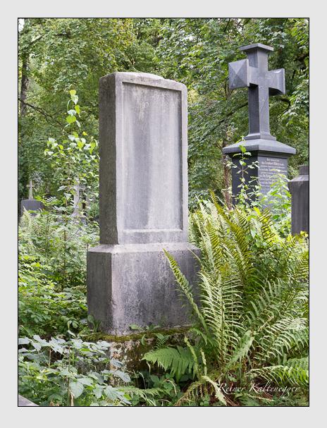 Grab der Familie Preger auf dem Alten Südfriedhof München (August 2014)