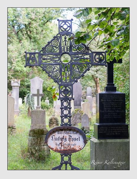Grab der Familie Appel auf dem Alten Südfriedhof München (August 2014)