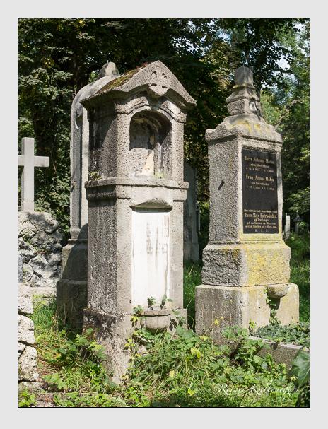 Grab der Familien Buhl & Strelin & Weizmann auf dem Alten Südfriedhof München (September 2014)