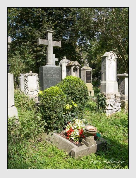 Grab der Familie Schegger auf dem Alten Südfriedhof München (September 2014)