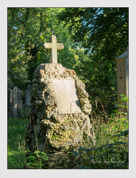 Grab der Familie Greinwald auf dem Alten Südfriedhof München (September 2014)