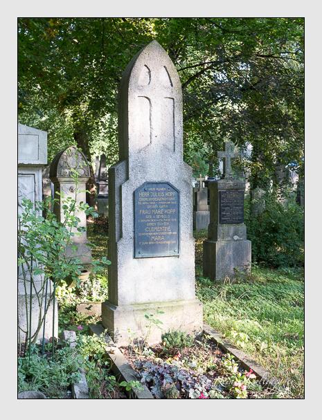 Grab der Familie Kopp auf dem Alten Südfriedhof München (September 2014)