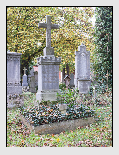 Grab der Familie Stulberger auf dem Alten Südfriedhof München (Oktober 2014)