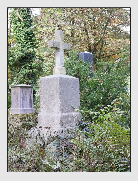 Grab der Familien Rummel · Staudinger auf dem Alten Südfriedhof München (Oktober 2014)