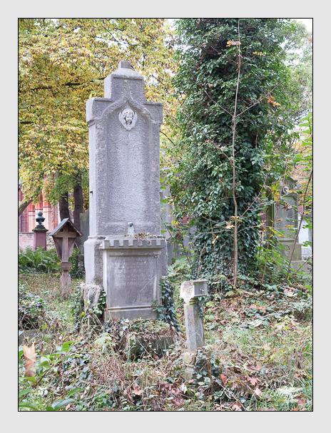 Grab der Familie Strobl auf dem Alten Südfriedhof München (Oktober 2014)
