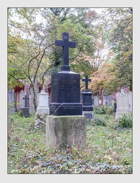 Grab der Familien Giggenbacher · Kolb · Seemann · Winreiter auf dem Alten Südfriedhof München (Oktober 2014)