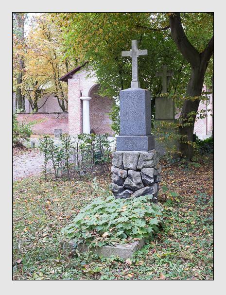 Grab der Familie Seebald auf dem Alten Südfriedhof München (Oktober 2014)