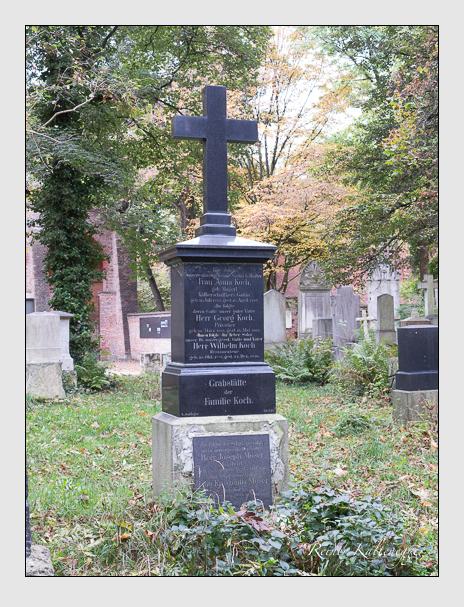 Grab der Familien Koch · Moser auf dem Alten Südfriedhof München (Oktober 2014)
