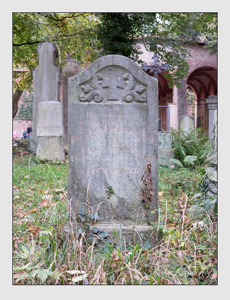 Grab der Familie Miehling auf dem Alten Südfriedhof München (Oktober 2014)