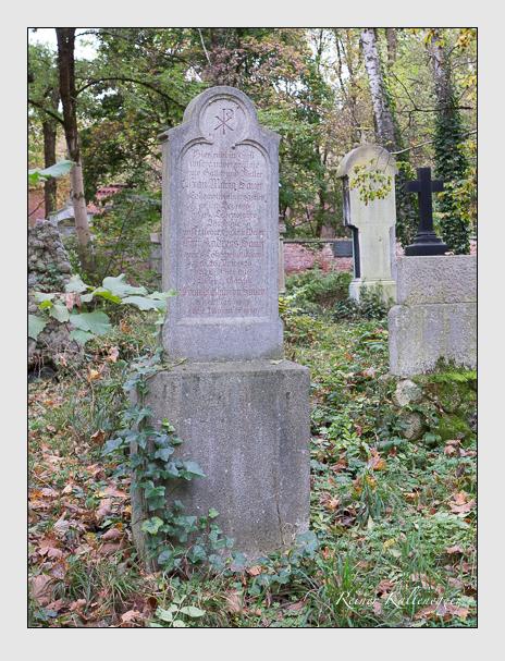 Grab der Familie Sauer auf dem Alten Südfriedhof München (Oktober 2014)