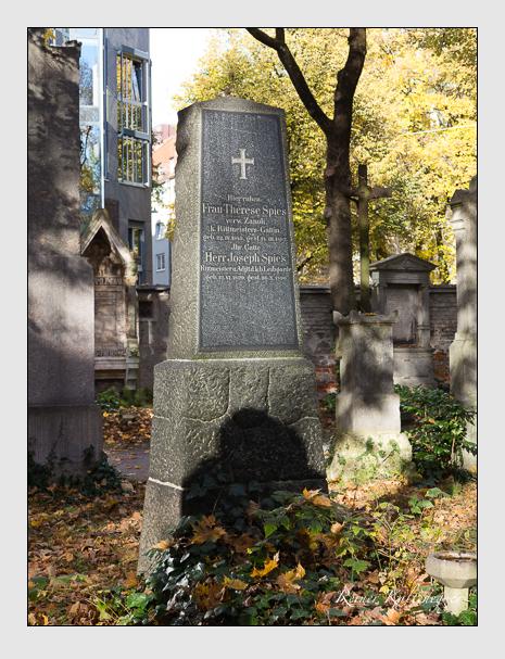 Grab der Familie Spies auf dem Alten Südfriedhof München (November 2014)