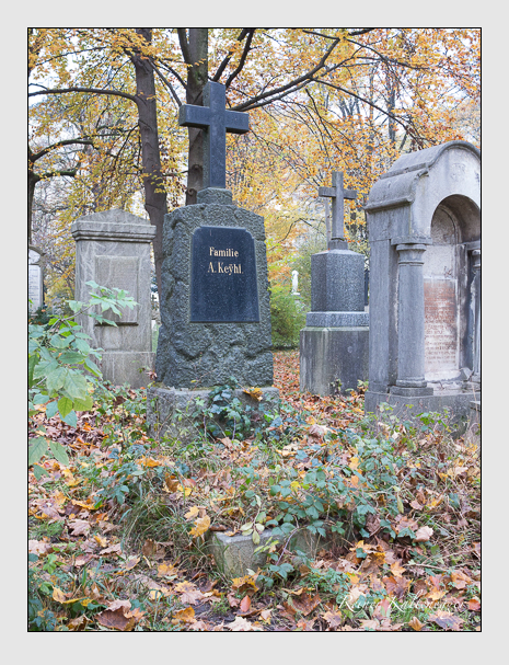 Grab der Familie Keyhl auf dem Alten Südfriedhof München (November 2014)
