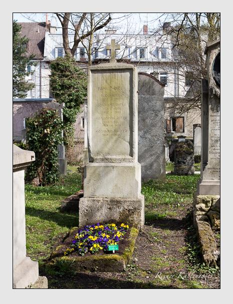 Grab der Familie Ritter auf dem Alten Südfriedhof München (April 2015)