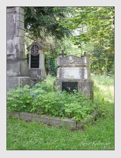 Grab der Familie Roth auf dem Alten Südfriedhof München (Mai 2015)
