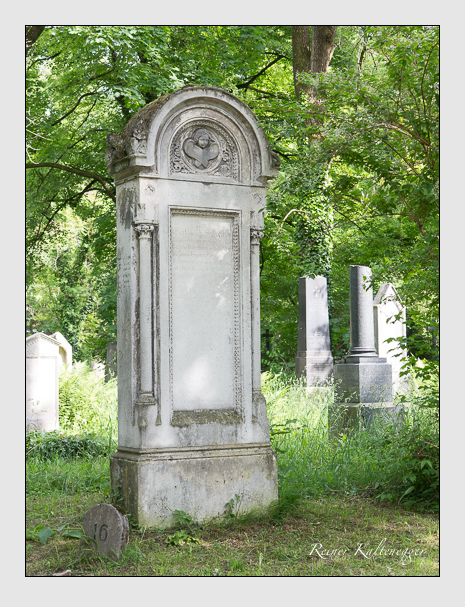 Grab der Familie Schreyer auf dem Alten Südfriedhof München (Mai 2015)