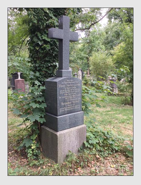 Grab der Familien Engel · Stoeber auf dem Alten Südfriedhof München (September 2015)