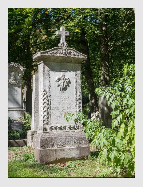 Grab der Familie Greis auf dem Alten Südfriedhof München (September 2015)
