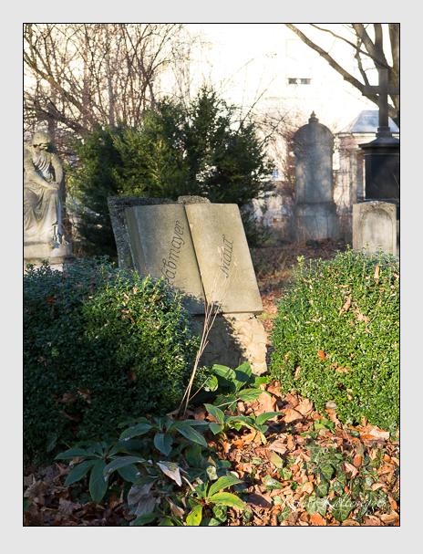 Grab der Familien Grabmayer & Maul auf dem Alten Südfriedhof München (Dezember 2015)