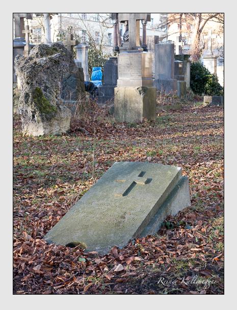 Grab der Familie Schwarzwald auf dem Alten Südfriedhof München (Dezember 2015)