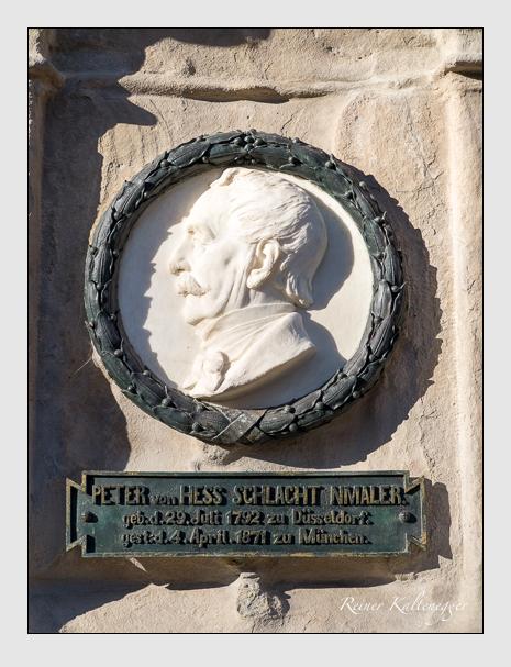 Grab der Familien Hess & Kurz auf dem Alten Südfriedhof München (Dezember 2015)