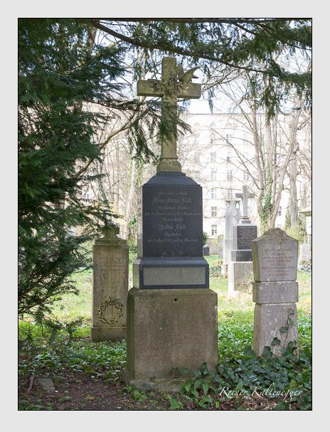 Grab der Familie Fink auf dem Alten Südfriedhof München (März 2016)