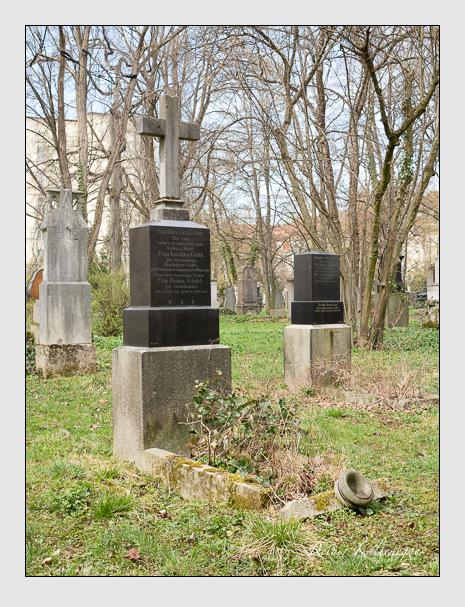 Grab der Familie Giefel auf dem Alten Südfriedhof München (März 2016)