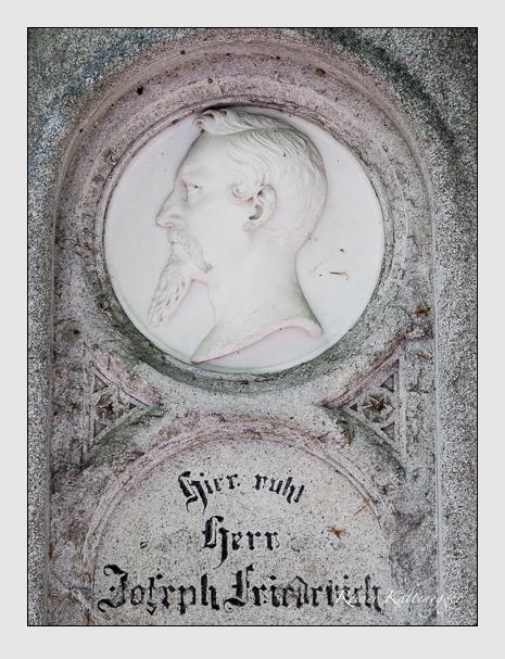 Grab der Familie Friedrich auf dem Alten Südfriedhof München (Mai 2016)