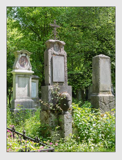 Grab der Familie Eyrainer auf dem Alten Südfriedhof München (Mai 2016)